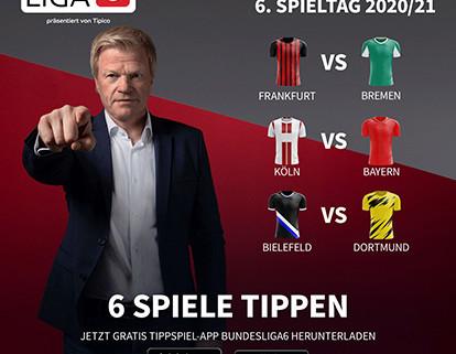 Bundesliga Expertentipps 6. Spieltag
